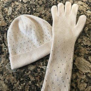 JCrew Hat and Glove set